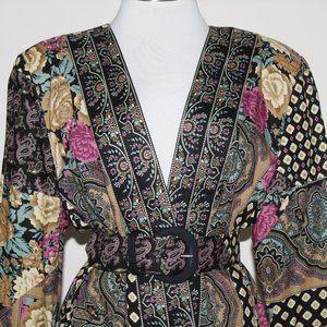 Lady Carol vintage long sleeve cover up sz. 14